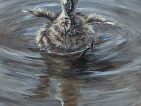 Gosling painting