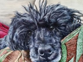 Poodle Painting