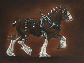 Clydesdale Painting