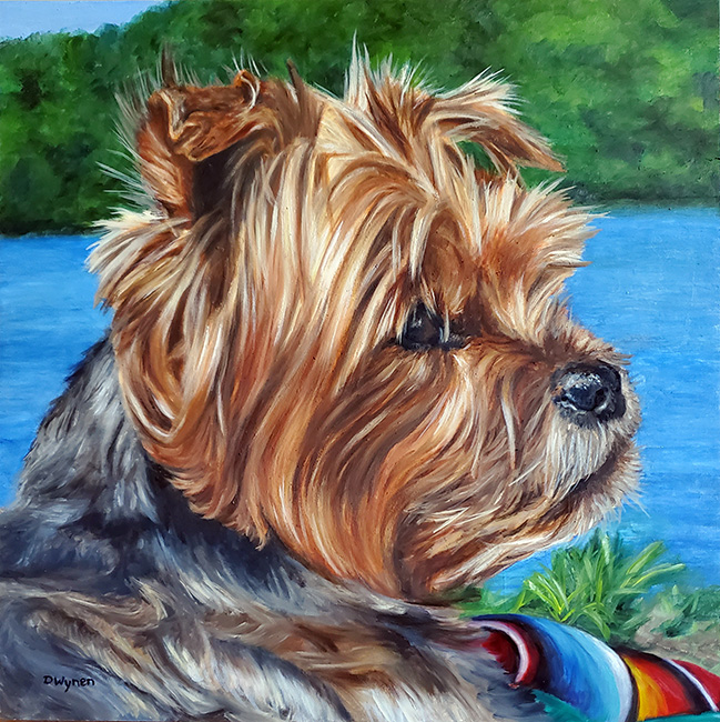 Yorkshire Terrier Painting